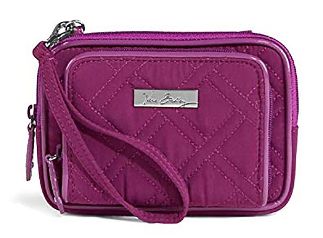 Item - Plum On The Square 2.0 Wristlet In Wallet