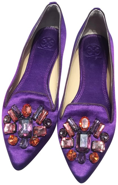 Item - Purple Mayada Smoking Slipper Flats Size US 8.5 Regular (M, B)