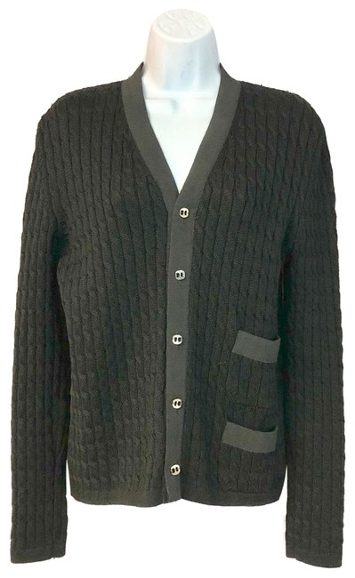 Item - Made In Italy Knit Black Sweater