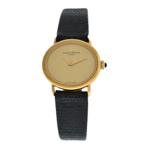 Baume & Mercier Ladies Baume & Mercier 38244 Solid 18K Gold Mechanical 22MM
