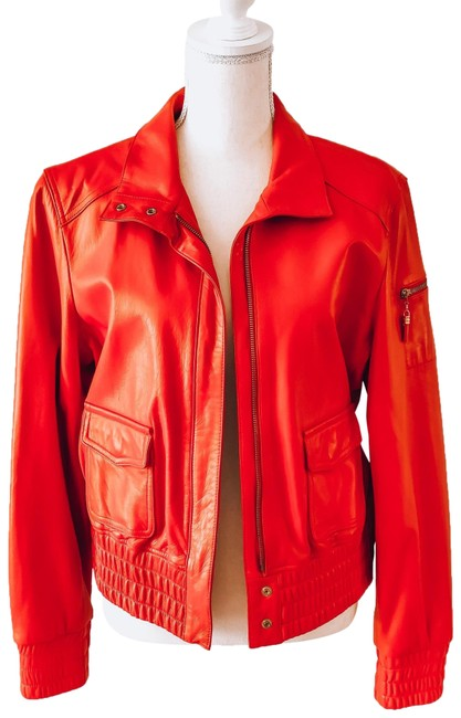 Item - Red Bright Jacket Size 8 (M)