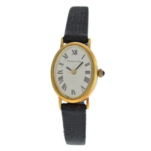 Tiffany & Co. Authentic Ladies Tiffany & Co. Classic 14K Yellow Gold 27MM Mechanical