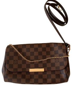 60bb8c8613b90 Louis Vuitton Cross Body Bag · Louis Vuitton. Favorite Mm Damier Ebene ...