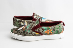 Gucci Red Tian Slip-on Sneaker Shoes
