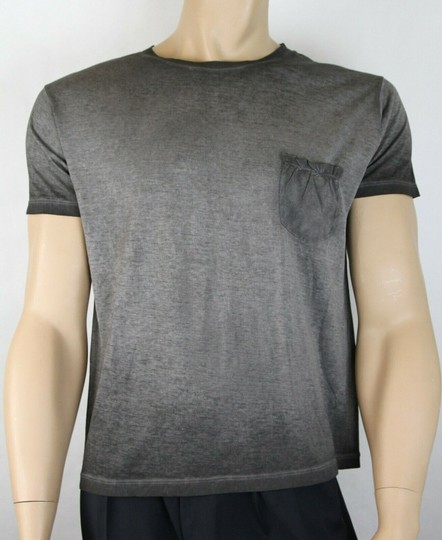 Preload https://img-static.tradesy.com/item/25338390/saint-laurent-grey-men-s-dyed-fine-knit-cotton-fitted-t-shirt-s-375900-1450-groomsman-gift-0-0-540-540.jpg