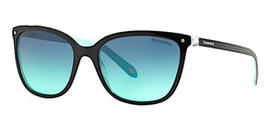 Tiffany & Co. Semi Cat Eye Sunglasses - Free 3 Day Shipping - Tiffany Blue Lens