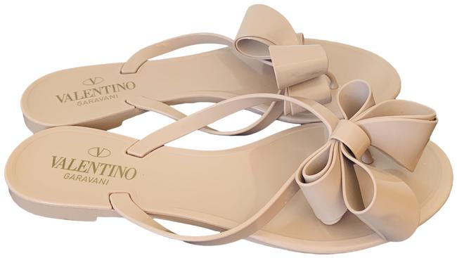Item - Tan Rubber Sandals Flats Size EU 38 (Approx. US 8) Regular (M, B)