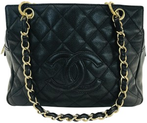 eb574764a22d Black Leather Chanel Bags - 70% - 90% off at Tradesy