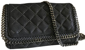 Stella McCartney Quilted Shoulder Clutch Falabella Cross Body Bag