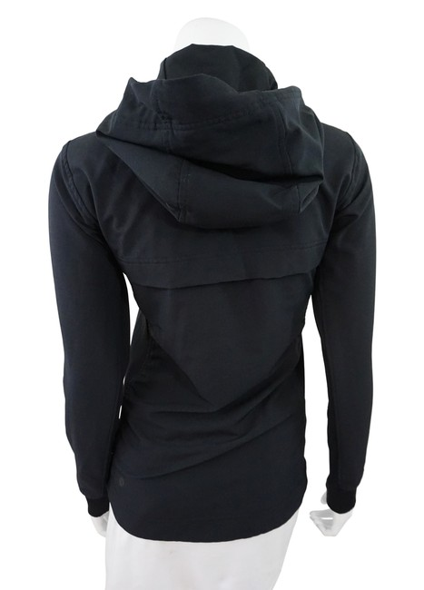 Lululemon Black Zip Up Hoodie Image 1