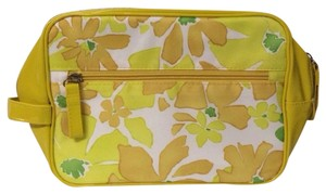 Elizabeth Arden ELIZABETH ARDEN YELLOW FLORAL COSMETICS MAKEUP BAG CASE BRAND NEW