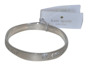 Kate Spade NWT KATE SPADE I'D FOLLOW YOU TO THE MOON AND BACK IDIOM BANGLE BRACELET W BAG