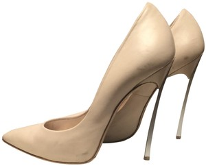 Casadei Stiletto Cream Pumps