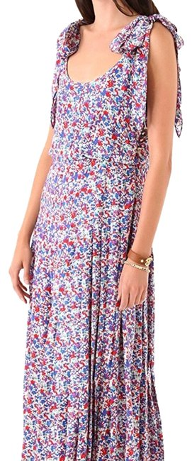 Item - Multicolored Gail Floral Casual Maxi Dress Size 2 (XS)