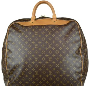 Louis Vuitton Evasion Travel Monogram Tote in Brown