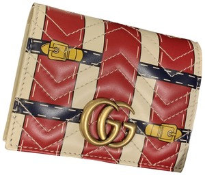 Gucci GG Marmont wallet with special print