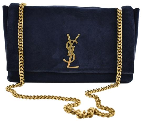 Saint Laurent Small Monogram Crystal Kate Shoulder Bag Image 0