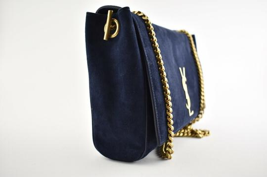 Saint Laurent Monogram Kate Ysl Monogram Navy Reversible