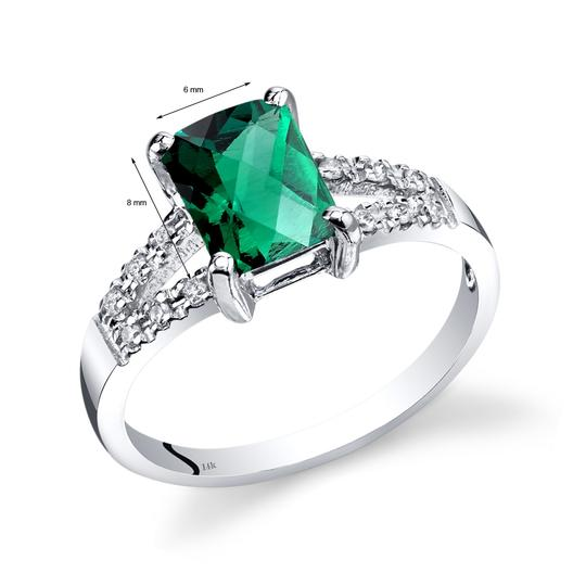 other Emerald Venetian RIng Image 1