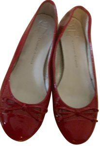 Etienne Marcel red Flats