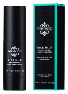 DERMASURI DERMASURI Rice Milk Brightening Face Exfoliator NEW IN BOX