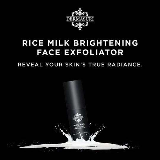 DERMASURI DERMASURI Rice Milk Brightening Face Exfoliator NEW IN BOX Image 1