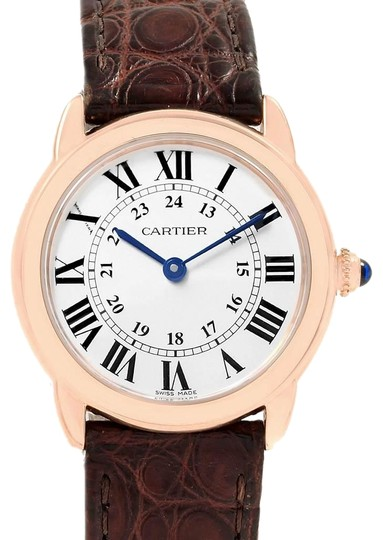 Preload https://img-static.tradesy.com/item/25340585/cartier-silver-ronde-solo-steel-18k-rose-gold-small-ladies-w6701007-watch-0-1-540-540.jpg