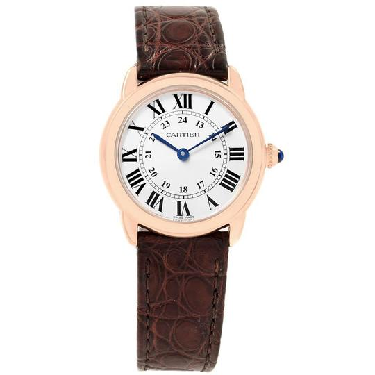 Cartier Cartier Ronde Solo Steel 18K Rose Gold Small Ladies Watch W6701007 Image 1