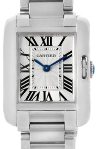Cartier Cartier Tank Anglaise Small Steel Ladies Watch W5310022