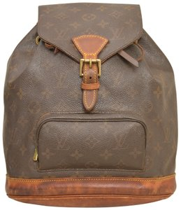 Louis Vuitton Monogram Shoulder Handbag Montsouris Mm Backpack