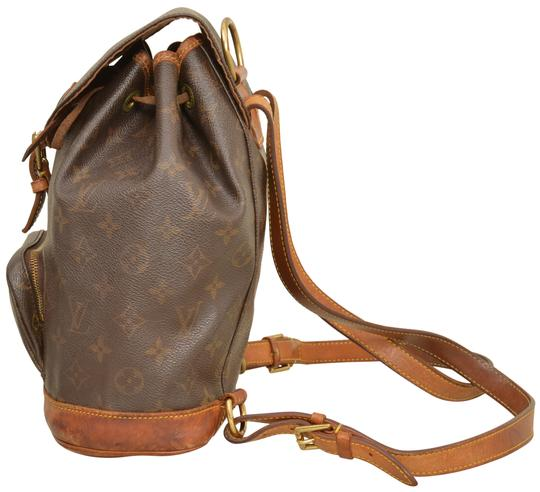 Louis Vuitton Monogram Shoulder Handbag Montsouris Mm Backpack Image 2