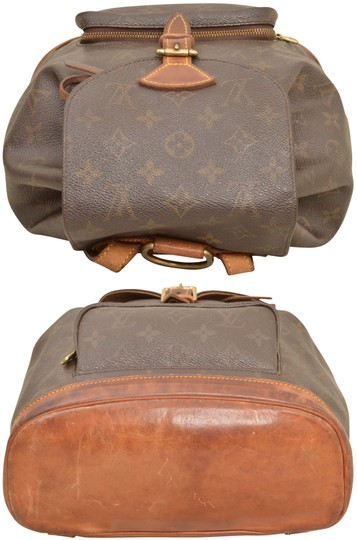 Louis Vuitton Monogram Shoulder Handbag Montsouris Mm Backpack Image 4