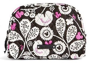 Vera Bradley Vera Bradley Disney Mickey Meets Birdie Medium Zip Cosmetic