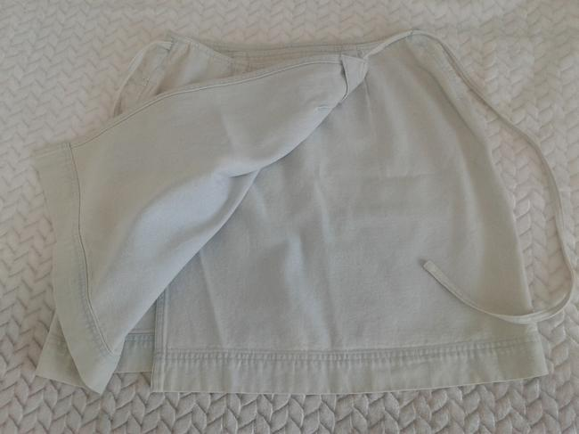 Ralph Lauren Cotton Wrap Around Above Knee Great Denim Made In Hong Kong Mini Skirt light blue Image 1