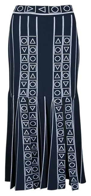 Preload https://img-static.tradesy.com/item/25340650/peter-pilotto-blue-navy-and-white-index-knit-slit-detail-m-skirt-size-8-m-29-30-0-1-650-650.jpg