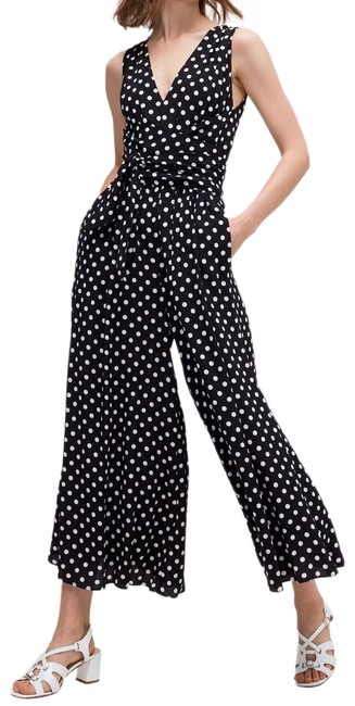 Preload https://img-static.tradesy.com/item/25340719/kate-spade-blackfrench-cream-lia-dot-romperjumpsuit-0-2-650-650.jpg