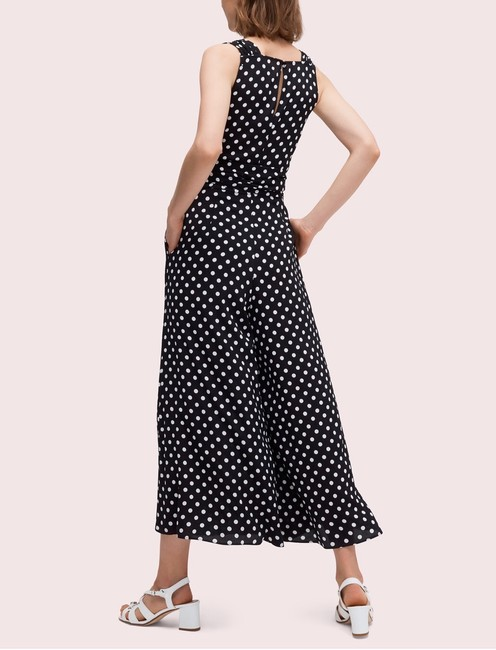 Kate Spade Polka Dot Neck Wide Leg Lia Dot Dress Image 1