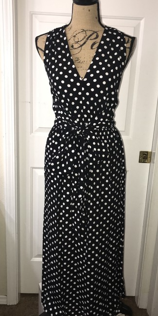 Kate Spade Polka Dot Neck Wide Leg Lia Dot Dress Image 2