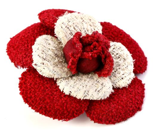 Chanel Chanel Flower Ribbon Pin and Brooch Image 2