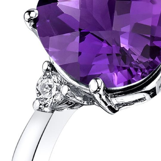 other Amethyst Oval Ring Image 1