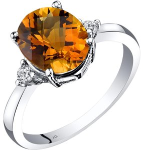 other Citrine Oval RIng