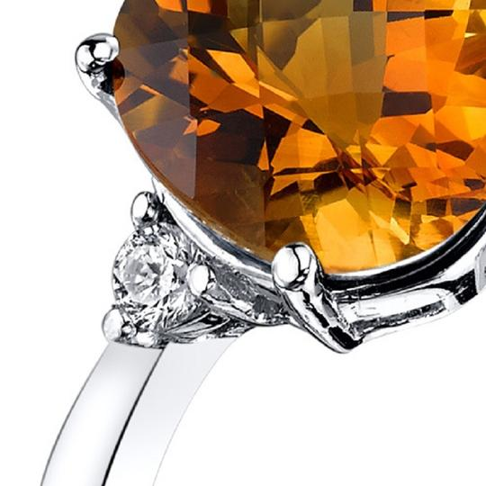 other Citrine Oval RIng Image 1
