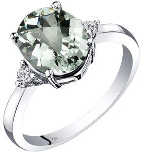 other Green Amethyst Oval RIng