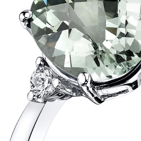 other Green Amethyst Oval RIng Image 1
