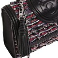 Tory Burch Fleming Tweed Shoulder Bag Image 0