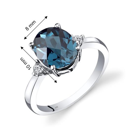 other Topaz Oval Ring Image 2