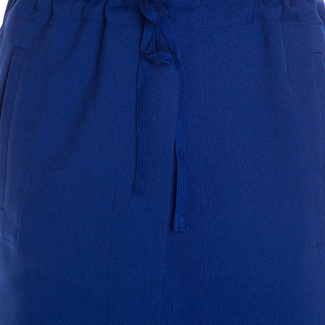 Issey Miyake Tie Polyester Trouser Pants Blue Image 3