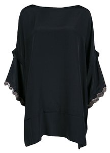 ISSA London Silk Embellished Oversized Tunic