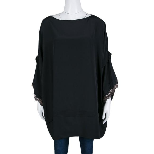 ISSA London Silk Embellished Oversized Tunic Image 1