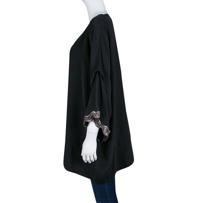 ISSA London Silk Embellished Oversized Tunic Image 2